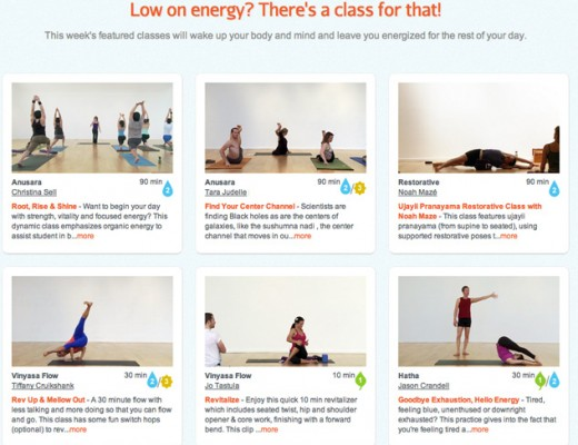yoga for low energy