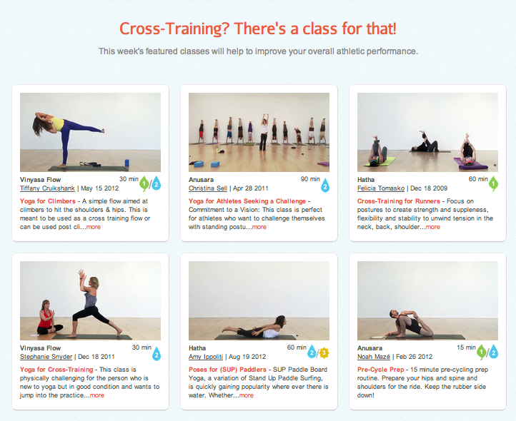 yoga for cross-training
