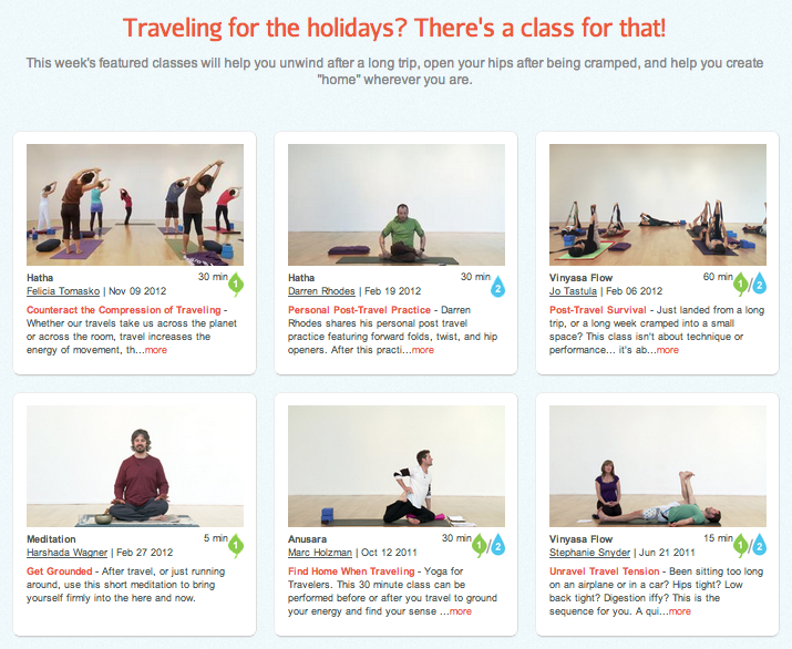 yoga for travel
