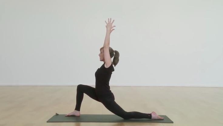 Low lunge pose