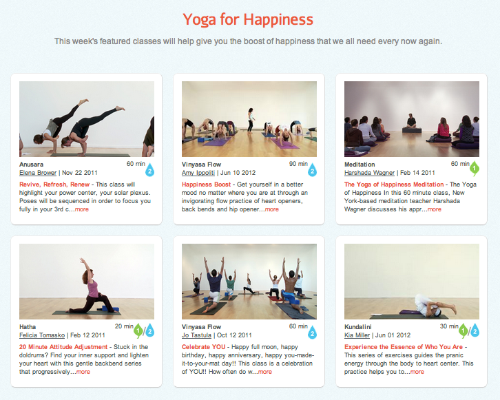 yoga to make you happy