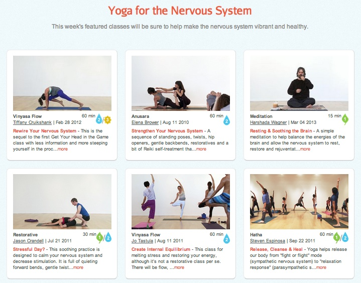 yoga for the nervous system
