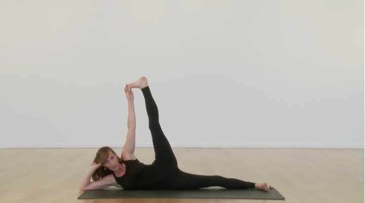 SIDE-RECLINING LEG LIFT