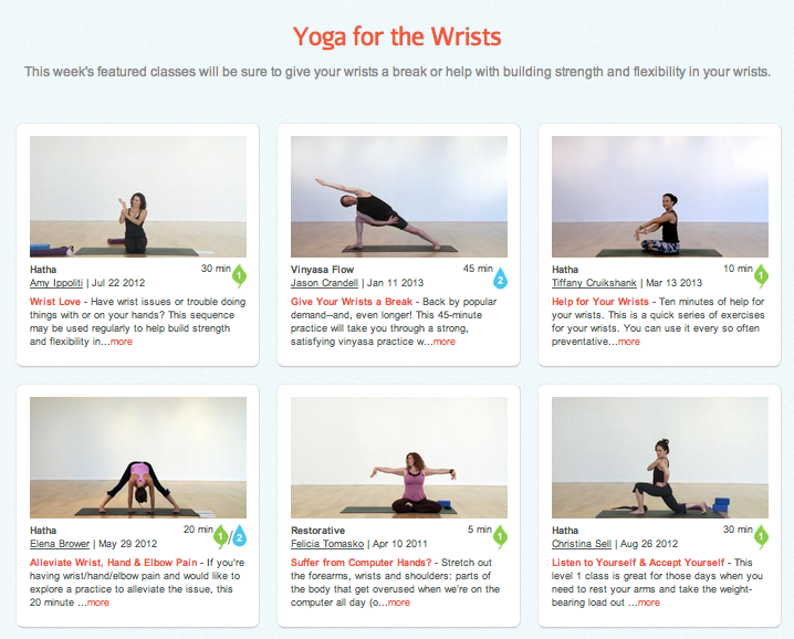 yoga for the wrists