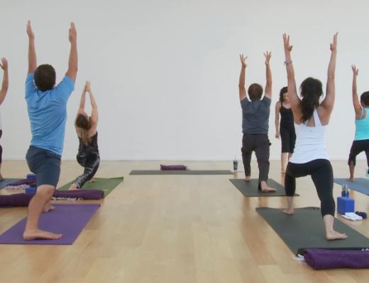 overheard in yoga class