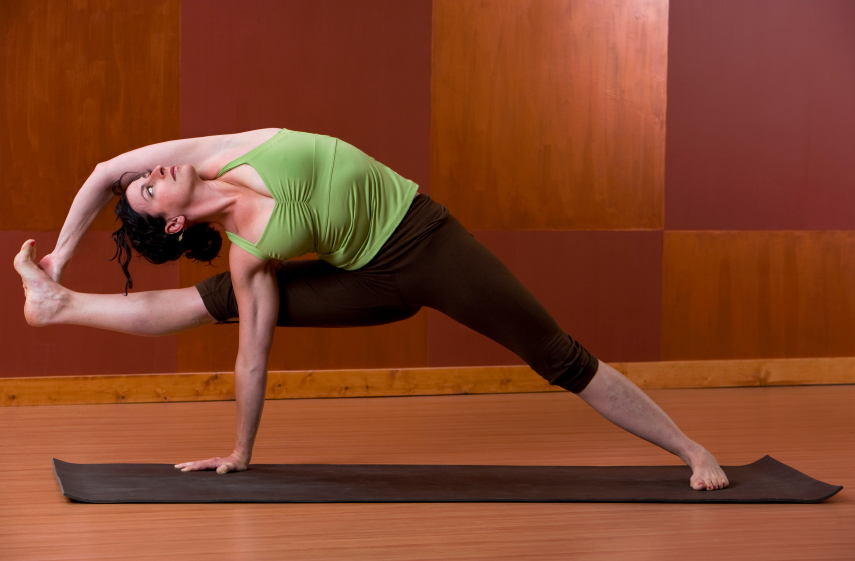 Visvamitrasana in yoga