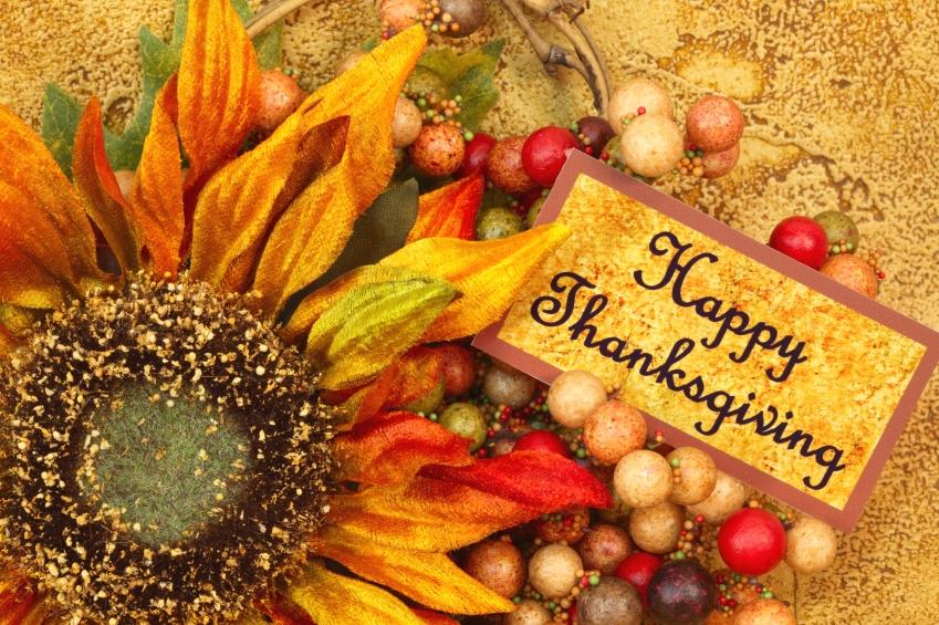Thanksgiving yoga