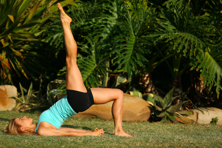 6 yoga classes for strong legs