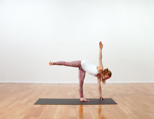 Pose of the Week: Half Moon Pose