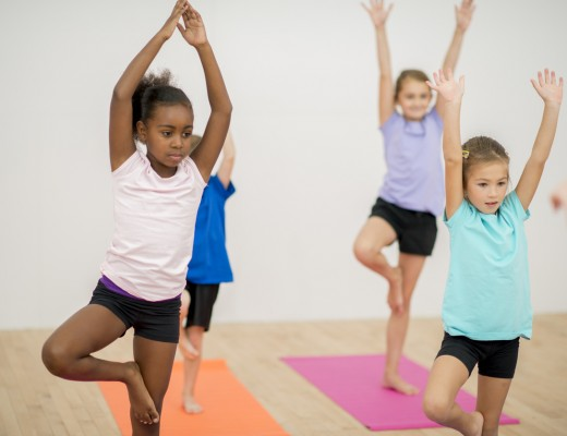 yoga for school kids