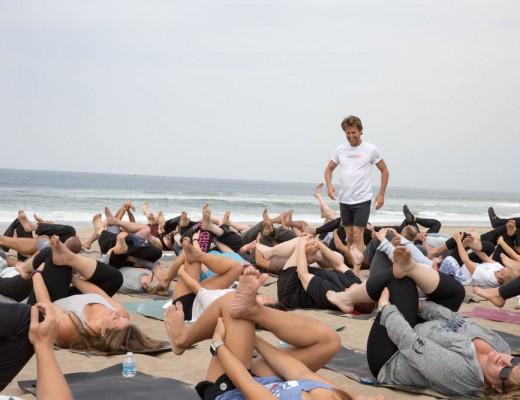 Ocean heals,yoga heals