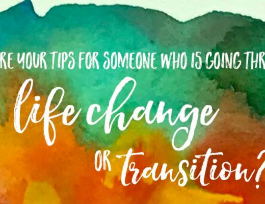 tipsforlifechanges