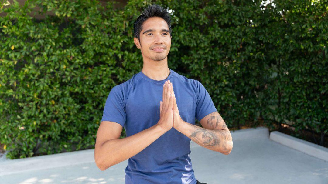 Glo's newest yoga teacher, Alex Artymiak.